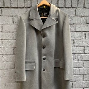 42L London Fog Trench Double Knit Polyester